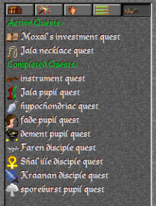 Quest list